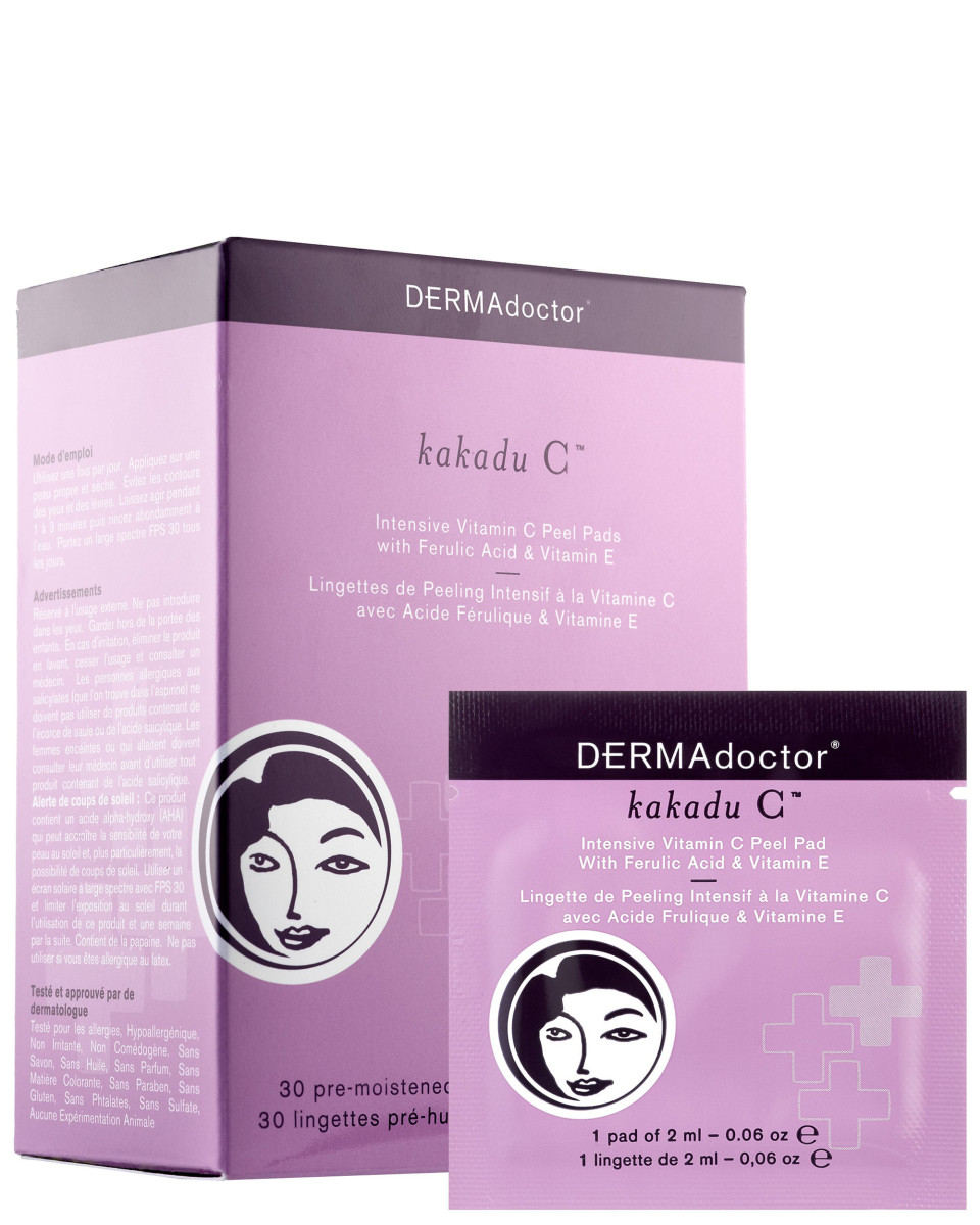 Dermadoctor Kakadu C Intensive Vitamin C Peel Pads with Ferulic Acid and Vitamin E