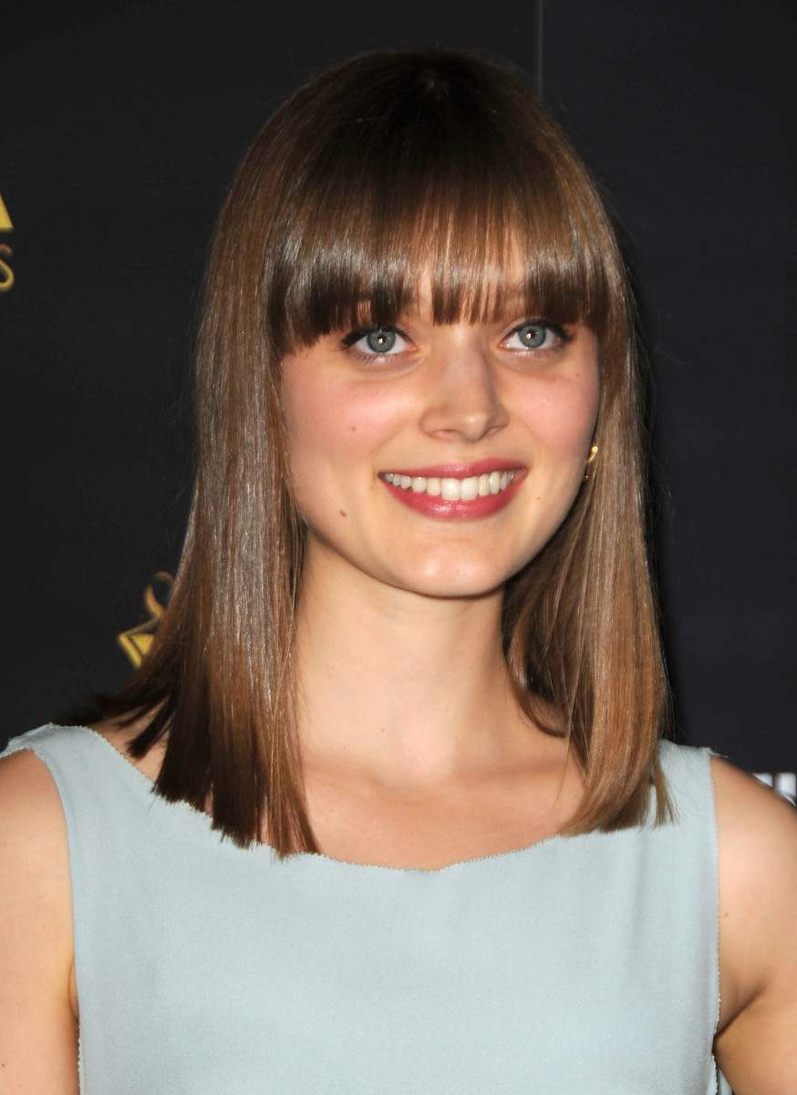 Bella Heathcote Australian Academy of Cinema and Television Arts Awards 2012