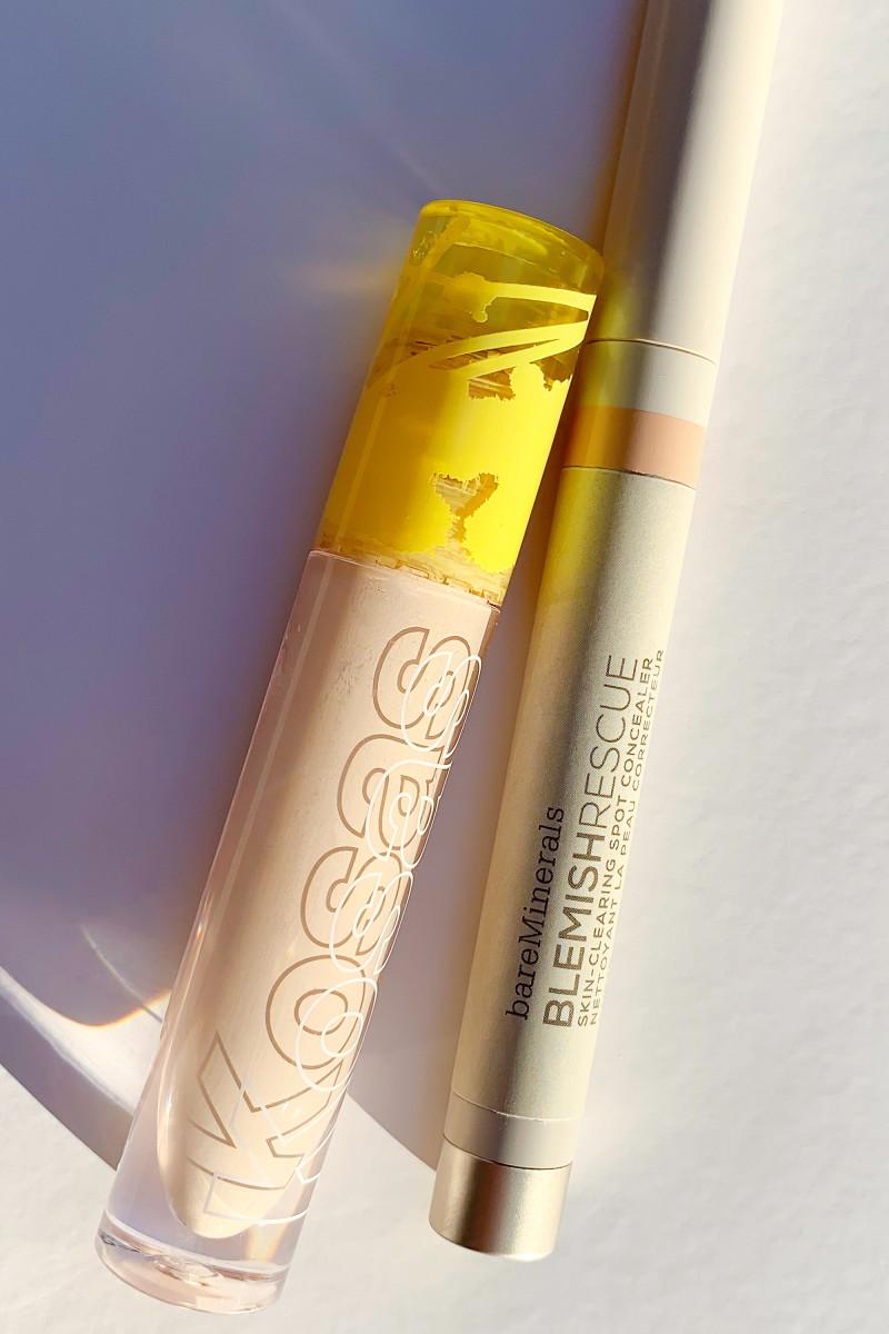 Kosas Revealer Concealer and bareMinerals Blemish Rescue Skin-Clearing Spot Concealer