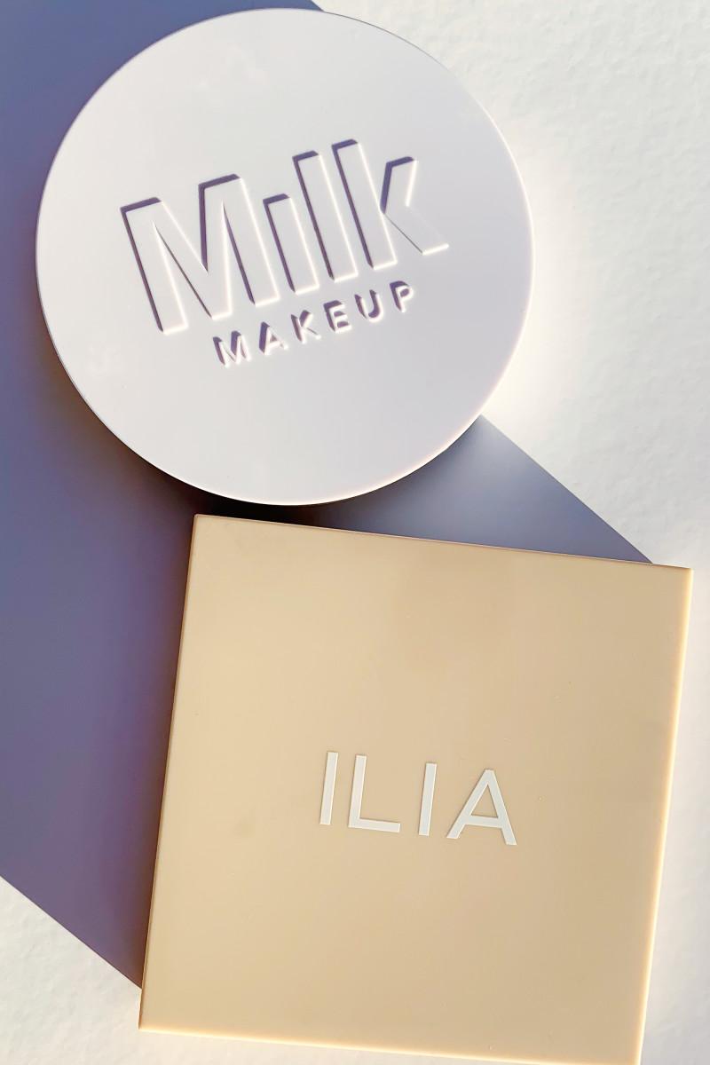 Milk Makeup Flex Highlighter and ILIA DayLite Highlighting Powder