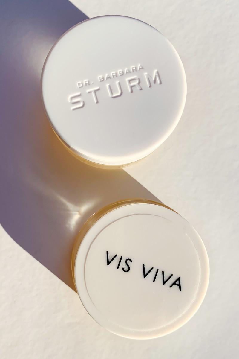 Dr. Barbara Sturm Lip Balm and Vis Viva Honey Coconut Hydrating Lip Balm