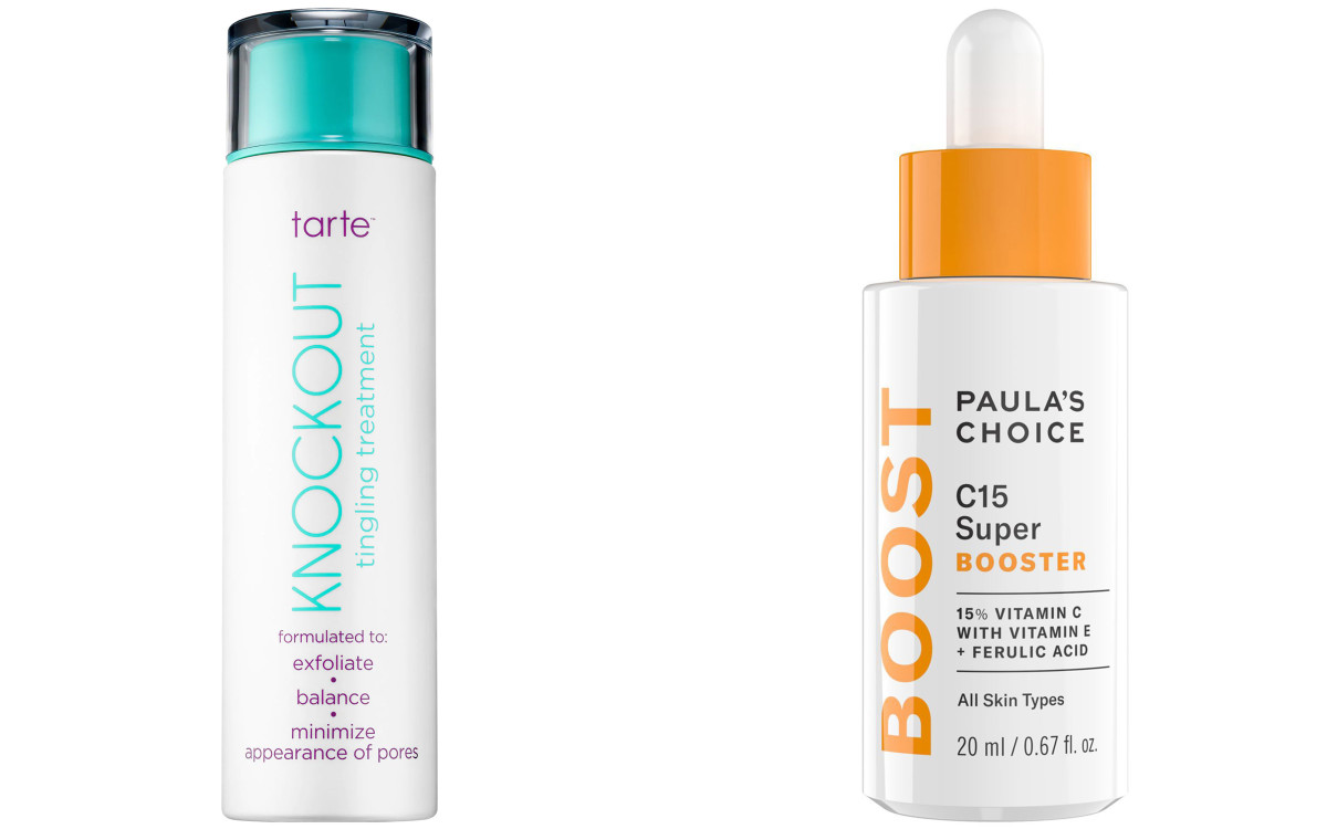 Tarte Knockout Tingling Treatment Paula's Choice C15 Super Booster