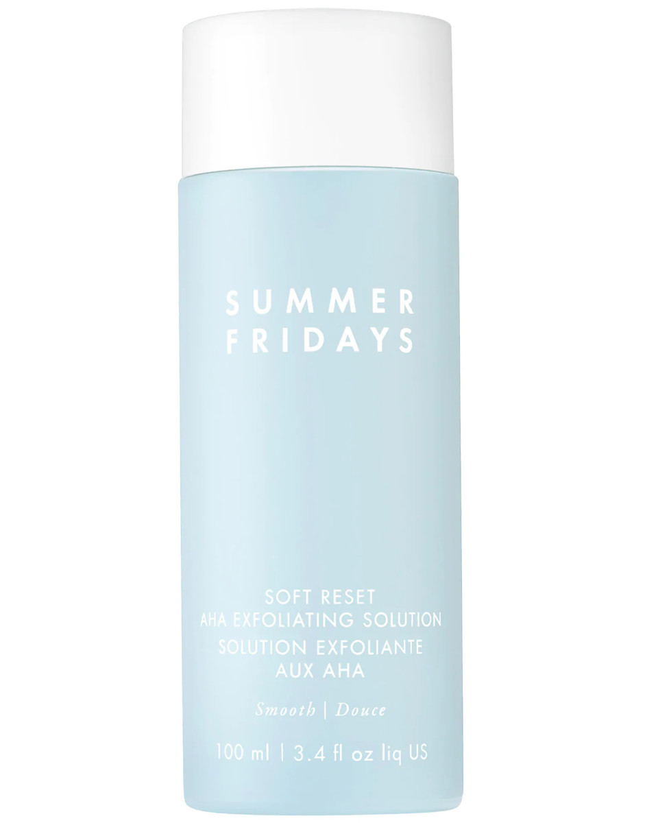 Summer Fridays Soft Reset AHA Exfoliating Solution