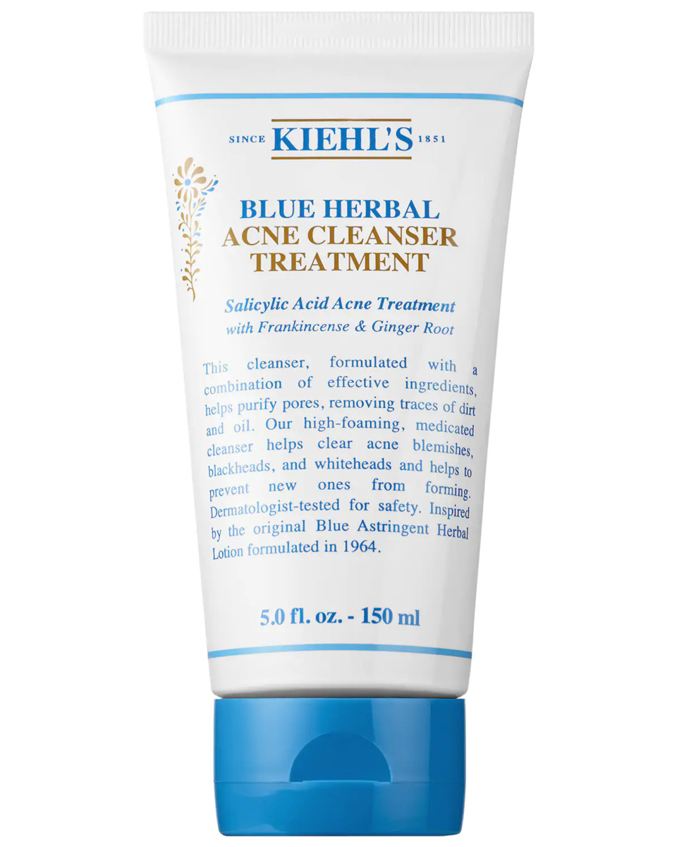 Kiehl's Blue Herbal Acne Cleanser Treatment