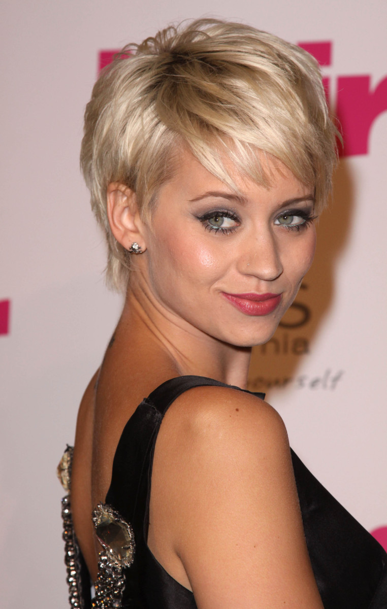 Kimberley Wyatt Hair Magazine Awards 2009