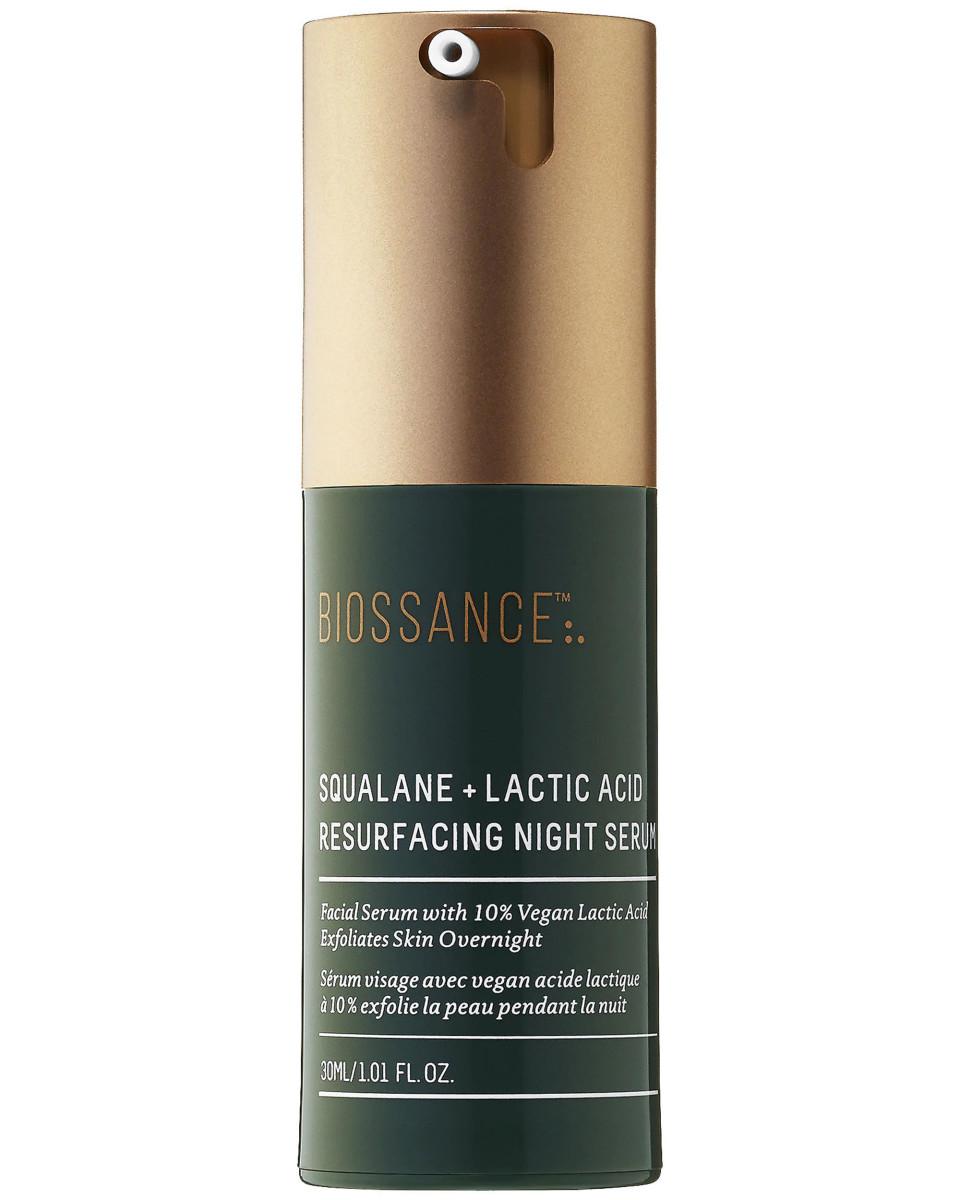 Biossance Squalane Lactic Acid Resurfacing Night Serum