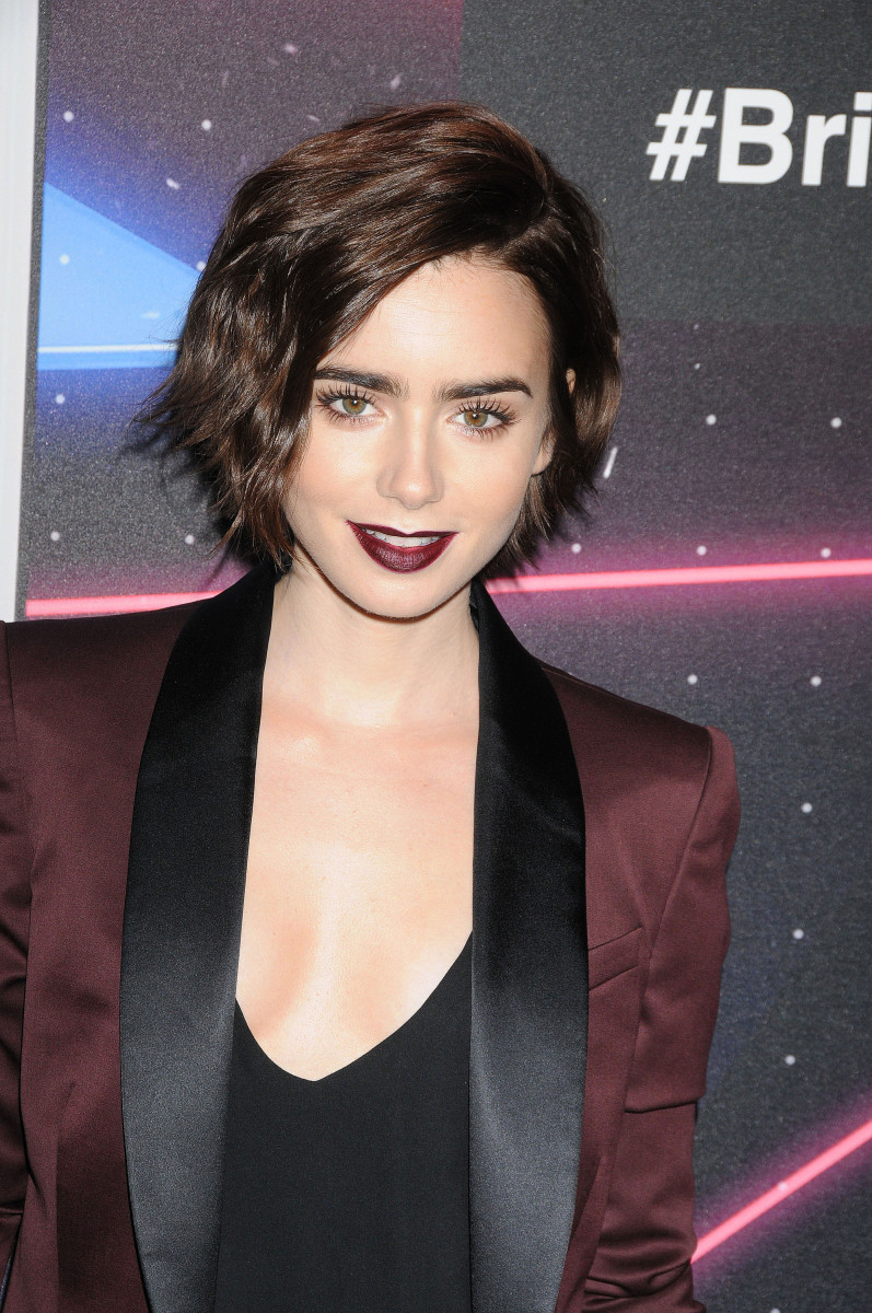 Lily Collins British Academy Britannia Awards 2015