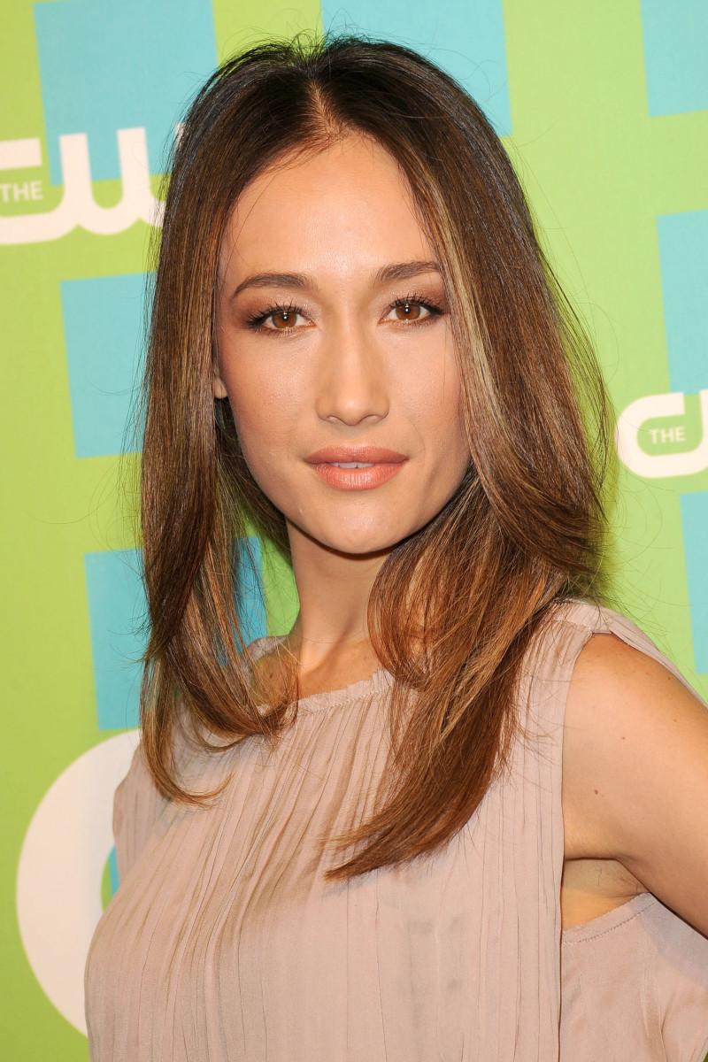 Maggie Q CW Upfront 2012