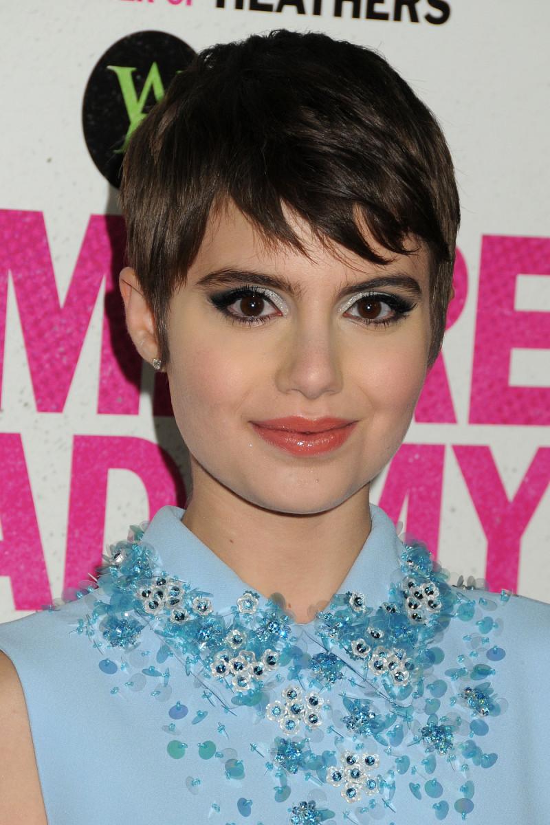 Sami Gayle Vampire Academy Los Angeles premiere 2014