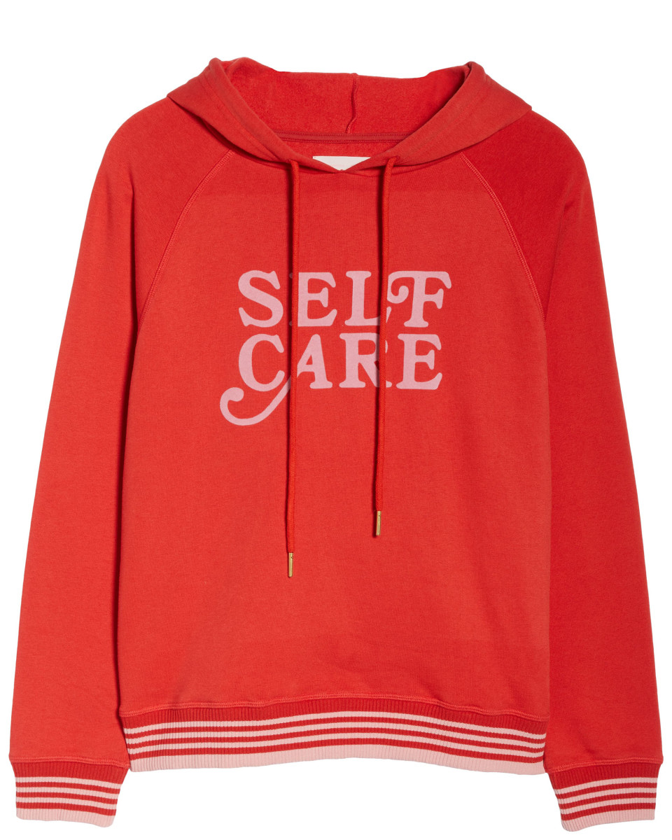 Ban.do Self Care Pullover Hoodie