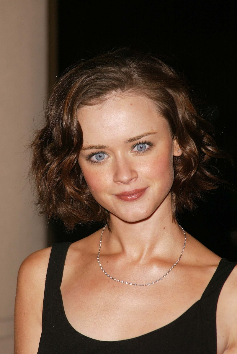 Alexis Bledel Hollywood Makeup Artist and Hairstylist Guild Awards 2004