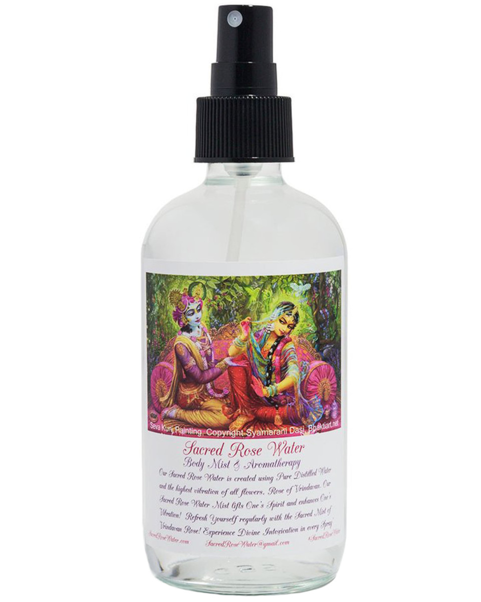 Sacred Rose Water Body Mist Aromatherapy