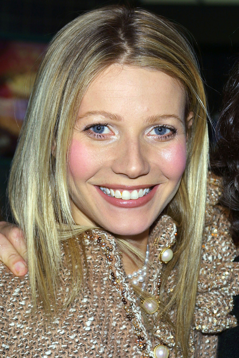 Gwyneth Paltrow Shallow Hal New York City premiere 2001