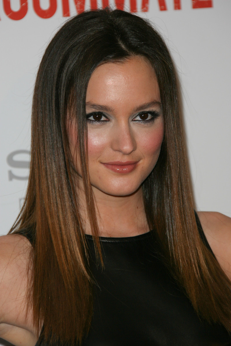 Leighton Meester The Roommate Los Angeles premiere 2011