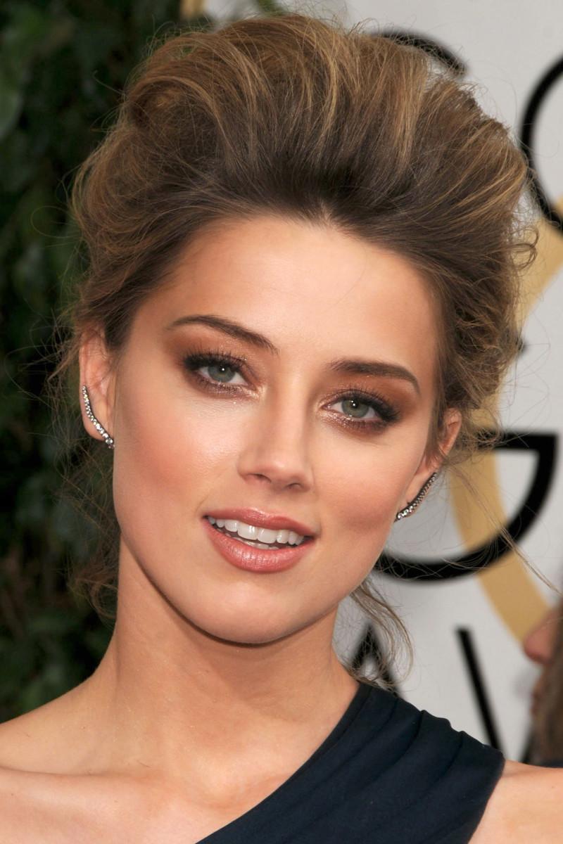 Amber Heard Golden Globes 2014