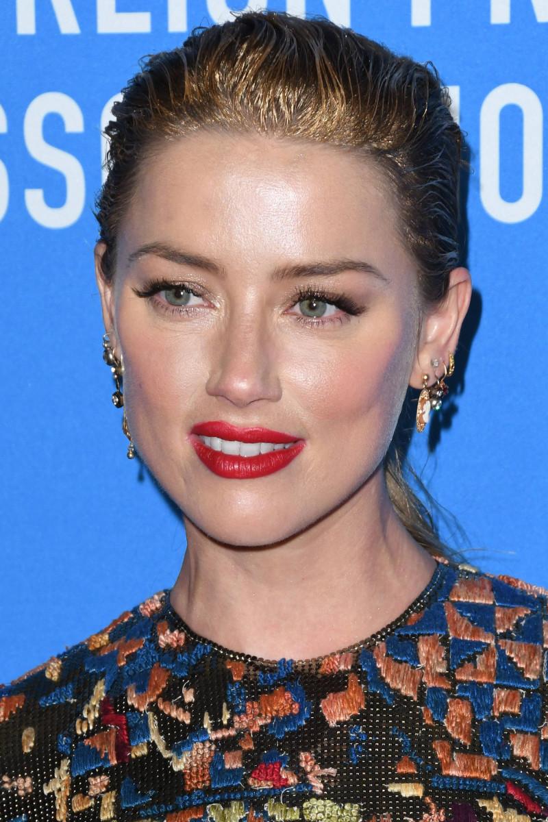 Amber Heard Hollywood Foreign Press Association Grants Banquet 2018