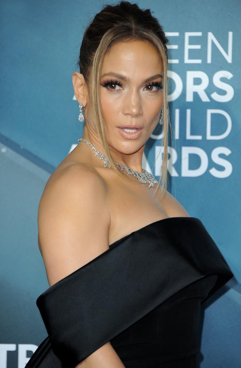 Jennifer Lopez SAG Awards 2020