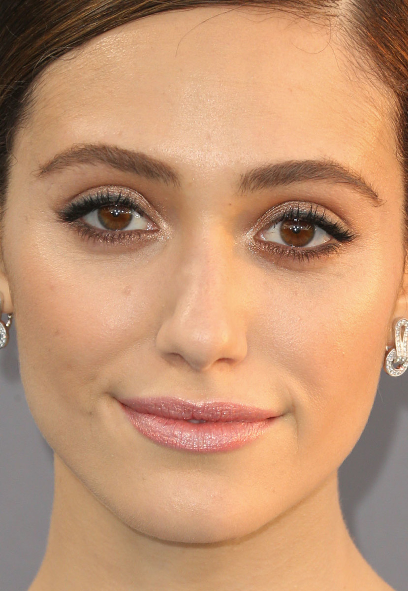 Emmy Rossum at the 2016 Critics' Choice Awards.