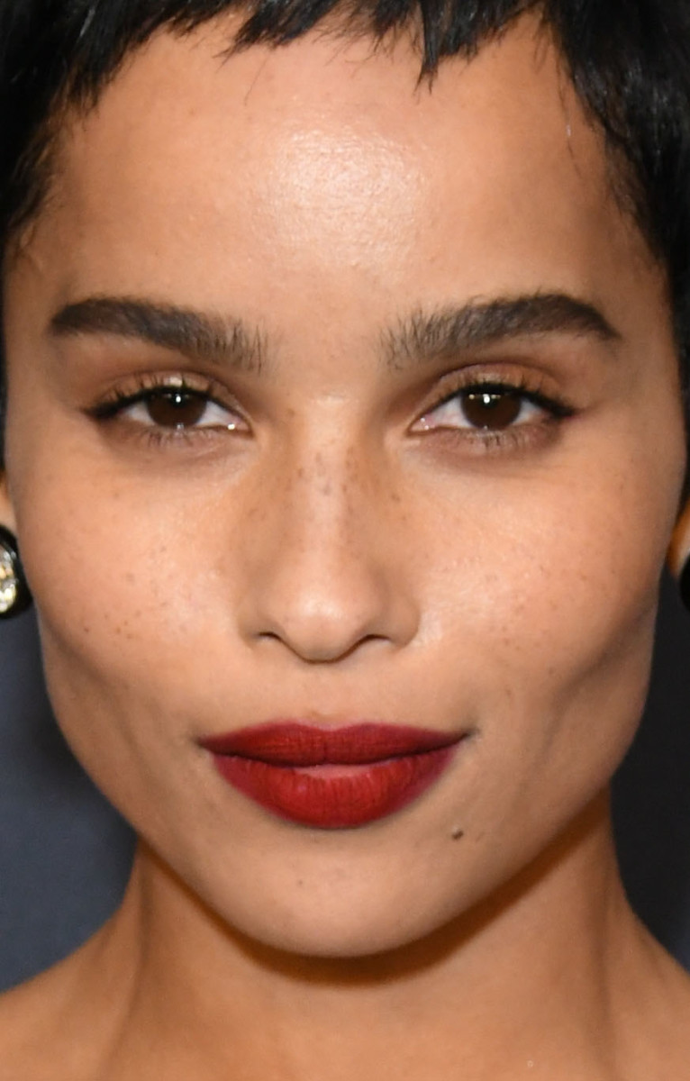 Zoe Kravitz InStyle Warner Bros Golden Globes After Party 2020