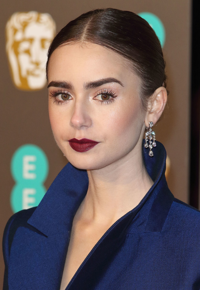 Lily Collins BAFTA Awards 2019