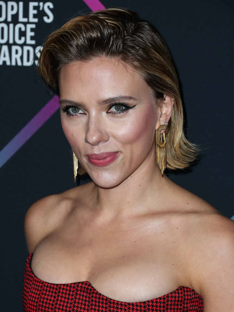 Scarlett Johansson People's Choice Awards 2018