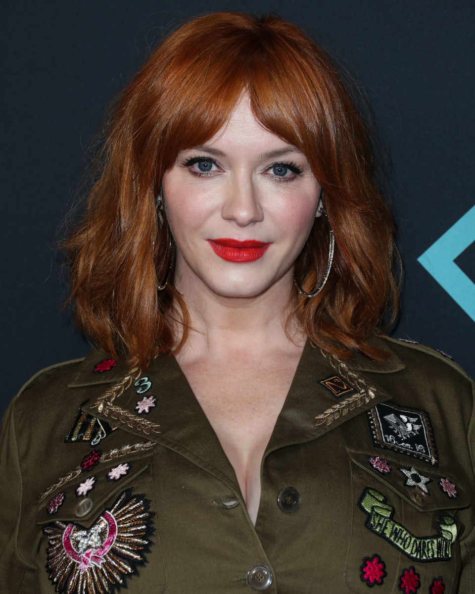 Christina Hendricks People's Choice Awards 2018