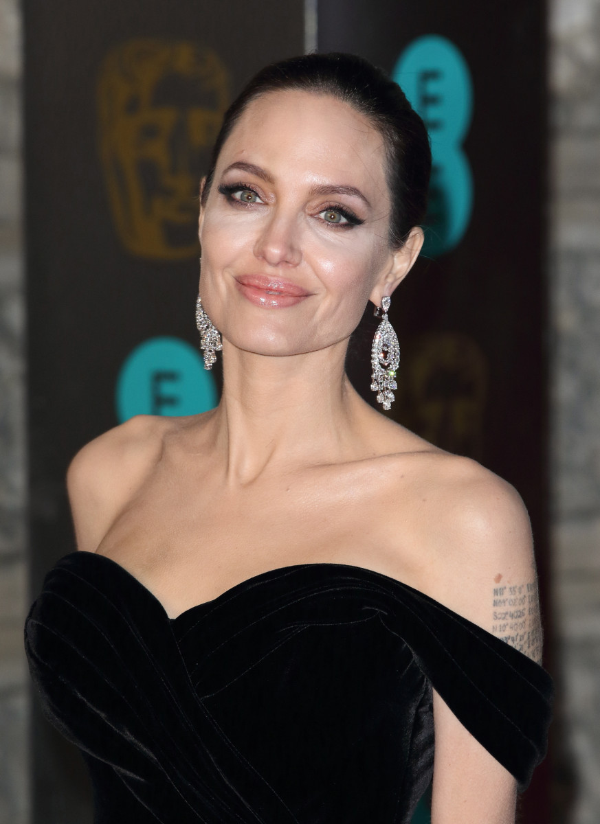 Angelina Jolie BAFTA Awards 2018