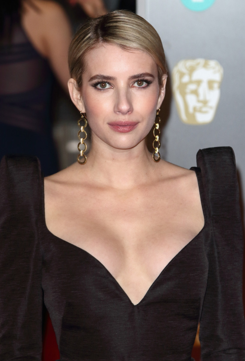 Emma Roberts BAFTA Awards 2018