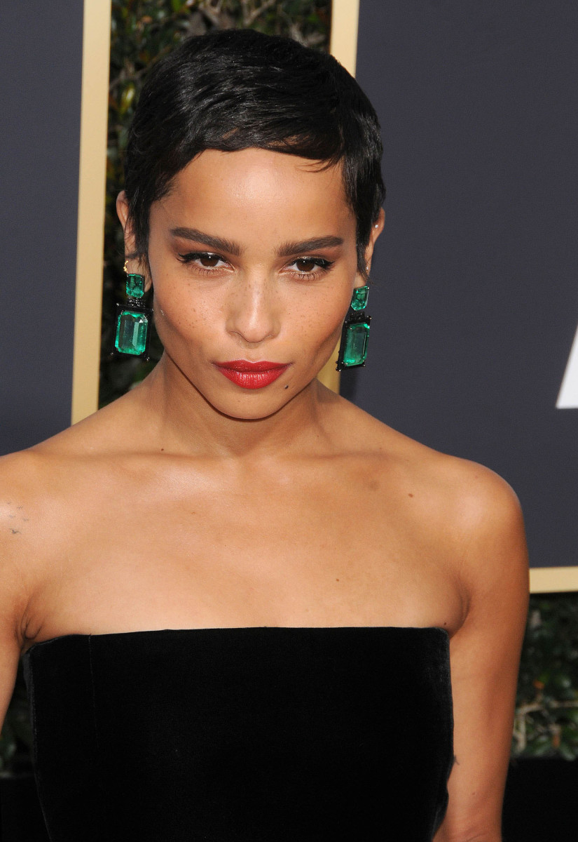 Zoe Kravitz Golden Globes 2018