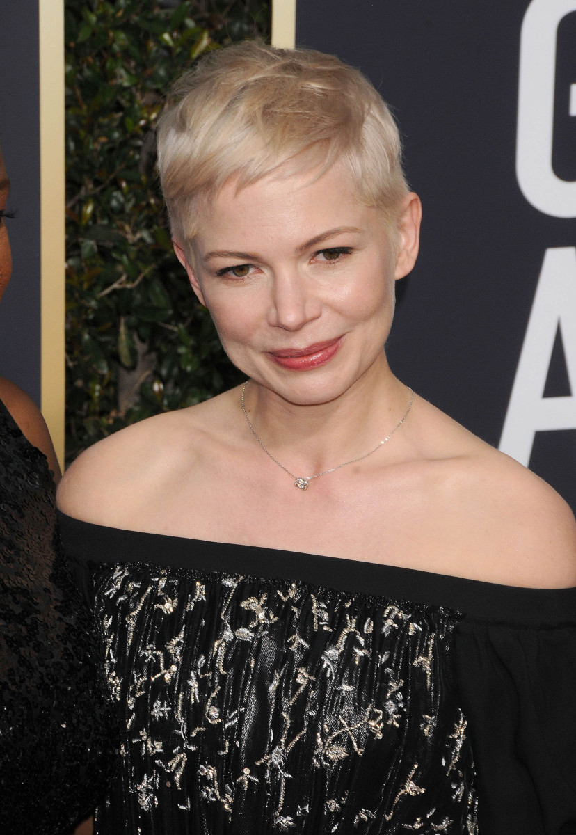 Michelle Williams Golden Globes 2018