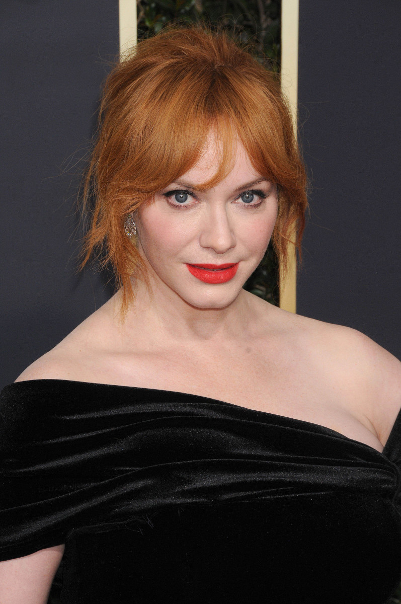 Christina Hendricks Golden Globes 2018