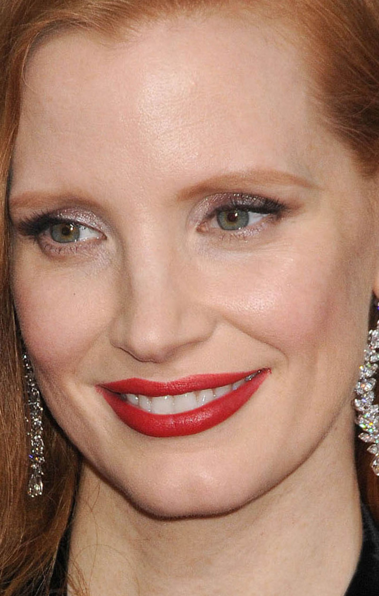 Jessica Chastain Golden Globes 2018