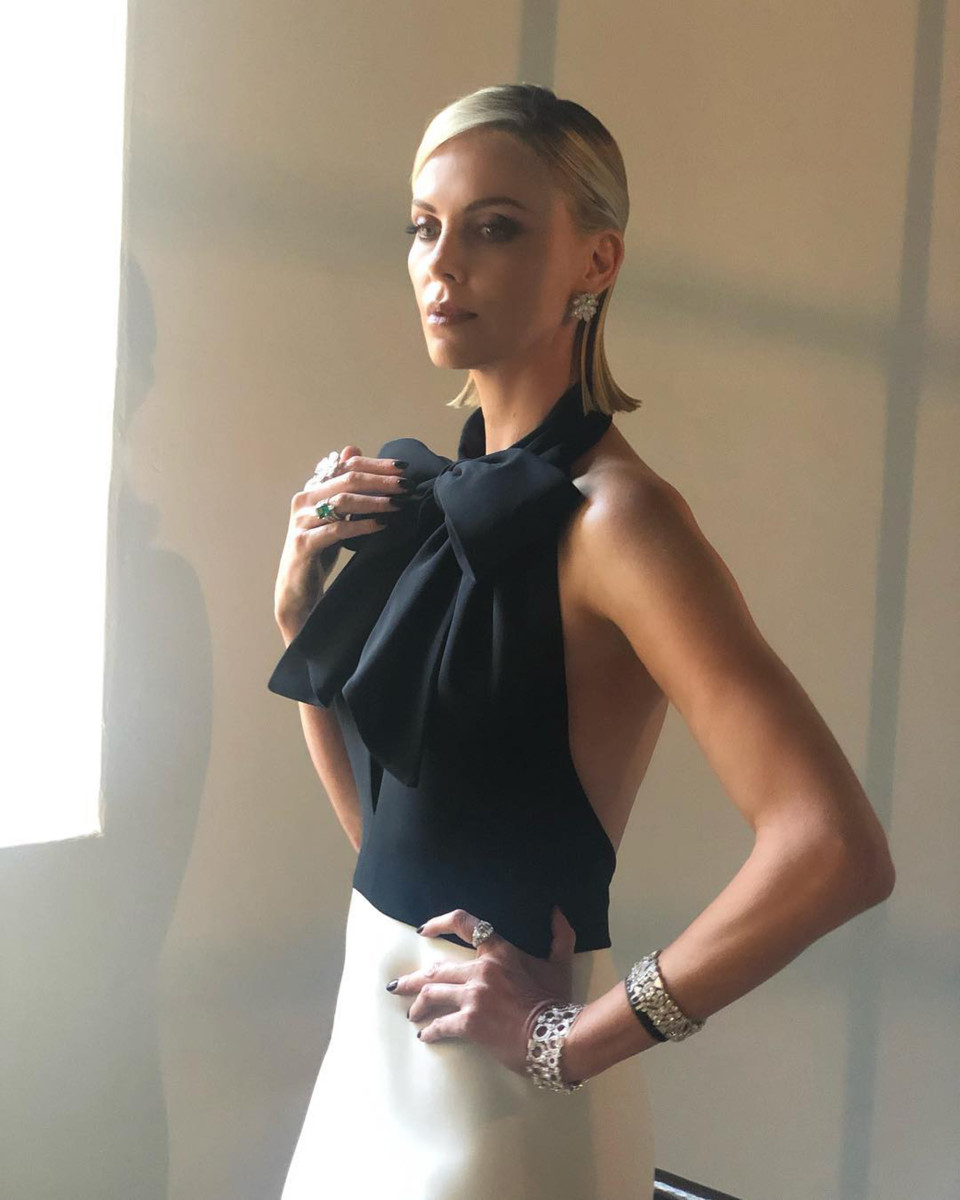 Charlize Theron Golden Globes 2019