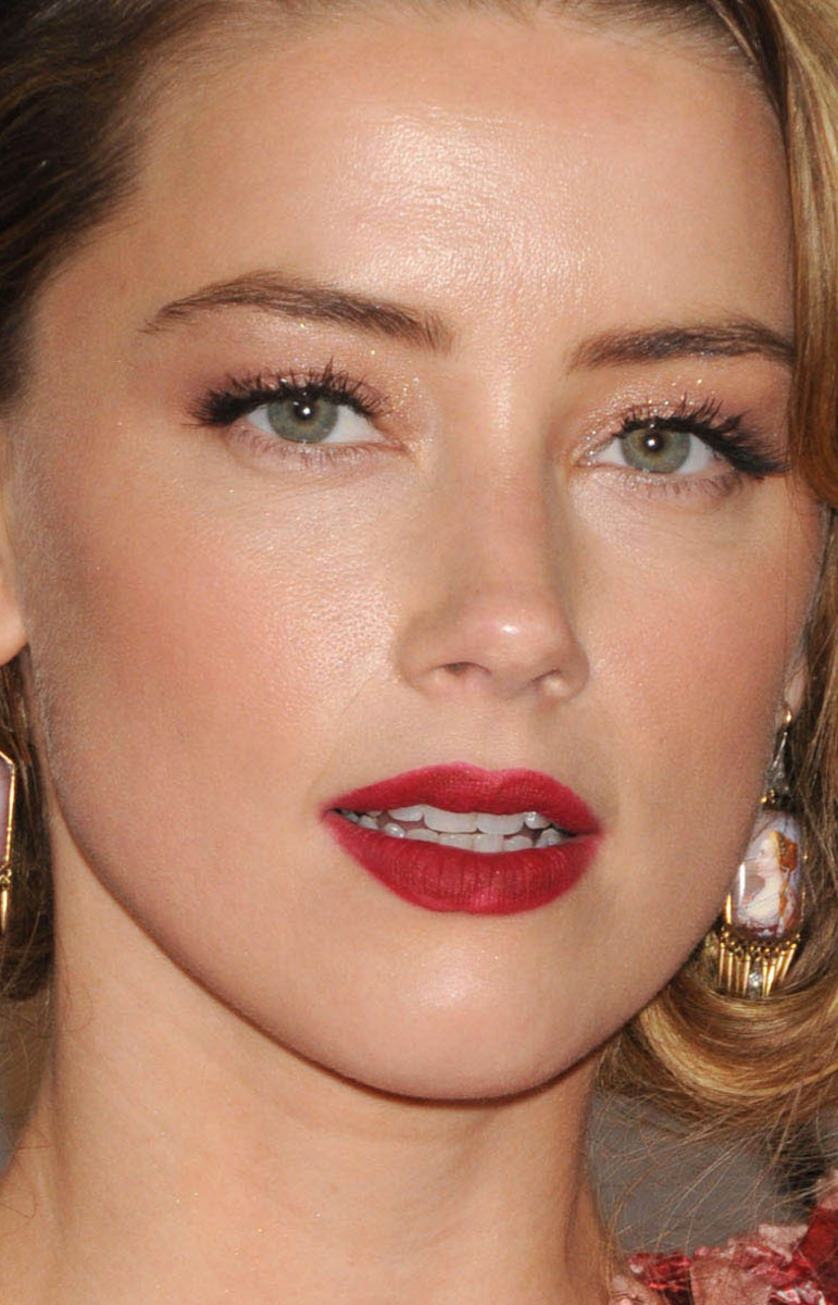 Amber Heard Golden Globes 2016