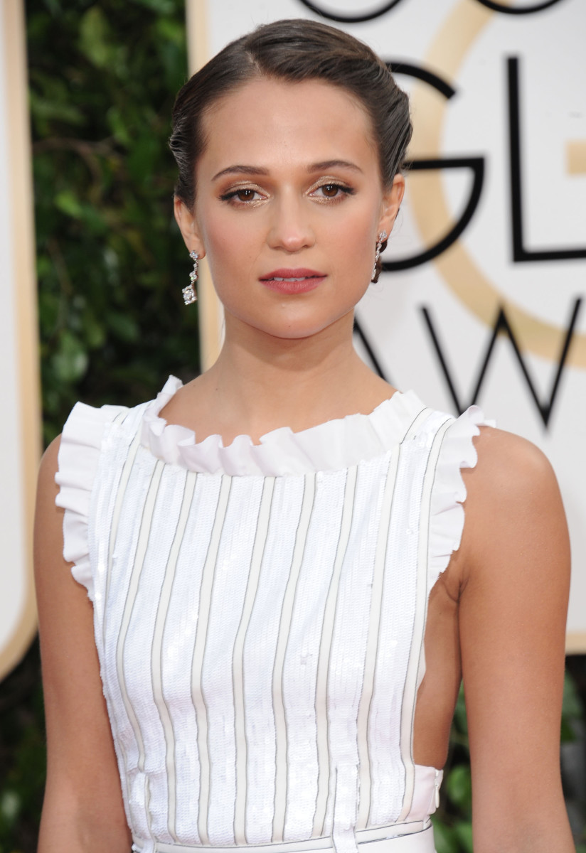 Alicia Vikander Golden Globes 2016