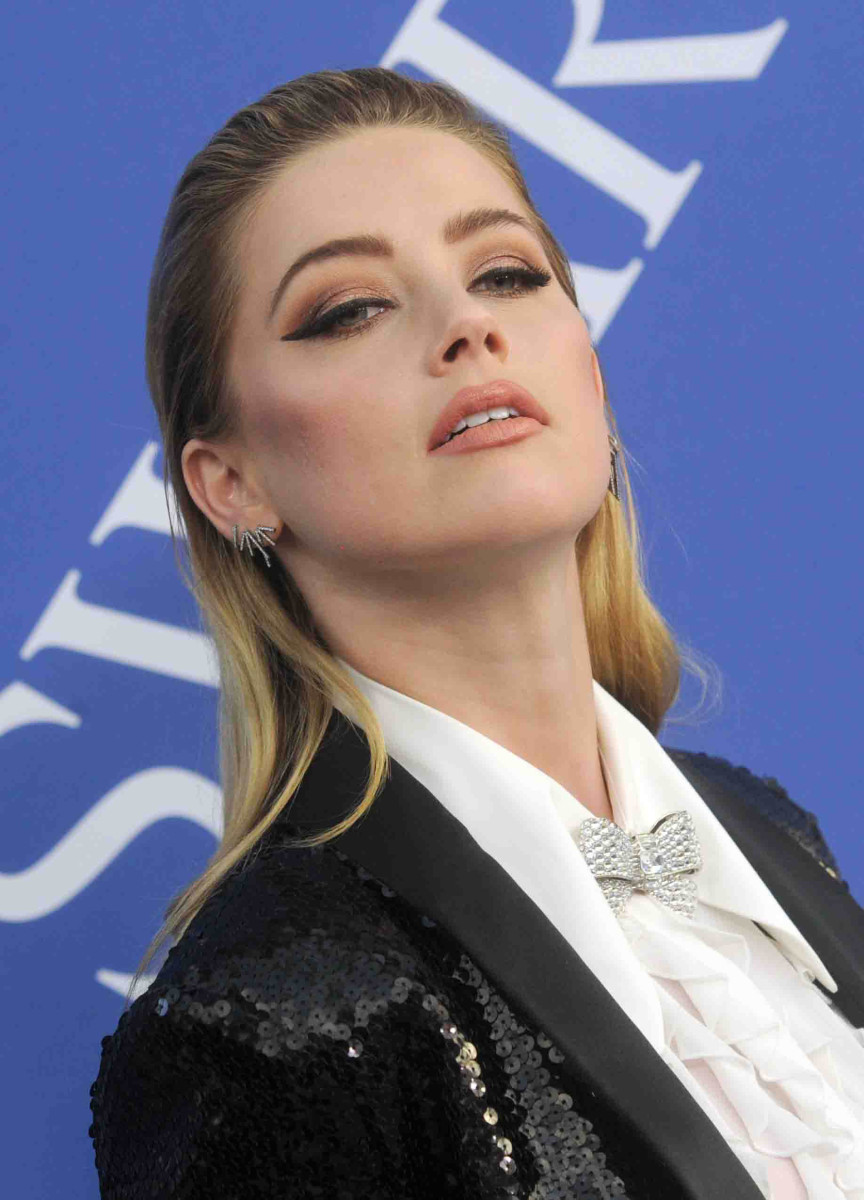 Amber Heard CFDA Awards 2018