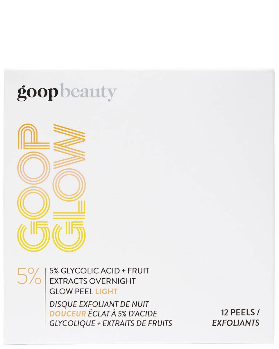 Goop Beauty GOOPGLOW 5 Glycolic Acid Fruit Extracts Overnight Glow Peel Light
