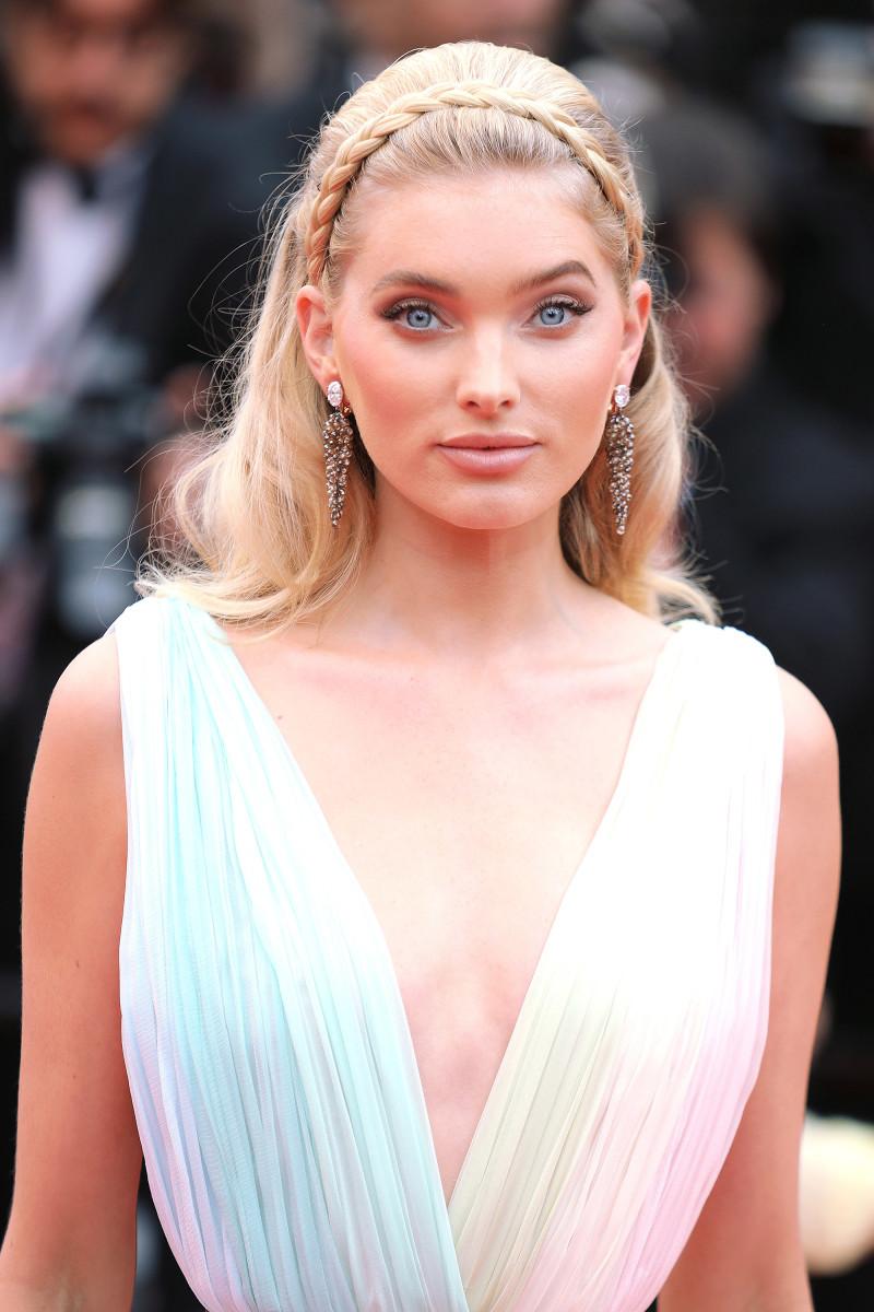 Elsa Hosk A Hidden Life Cannes premiere 2019