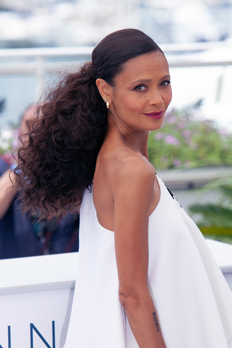 Thandie Newton Solo A Star Wars Story Cannes photocall 2018