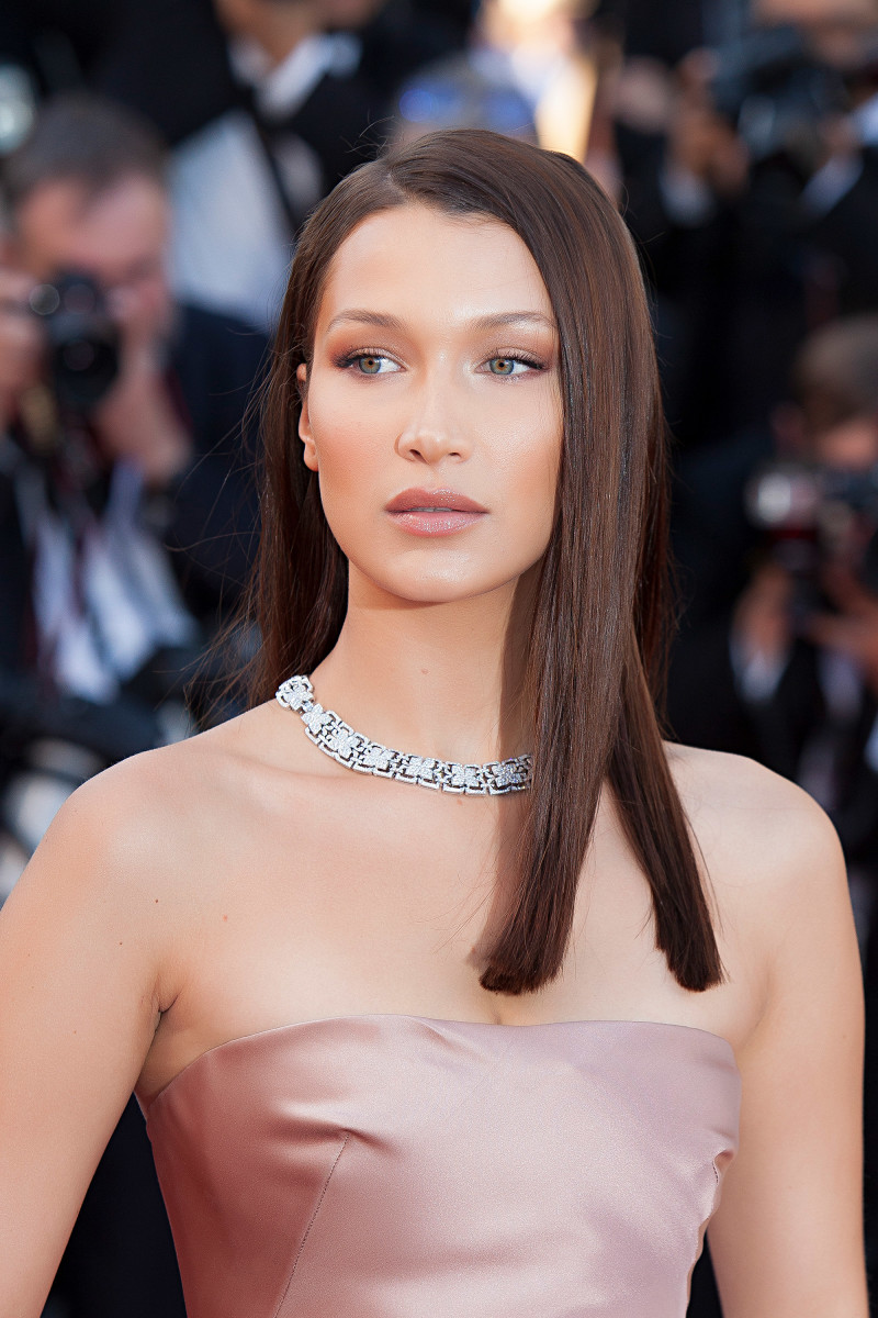Bella Hadid Ash Is Purest White Cannes premiere 2018