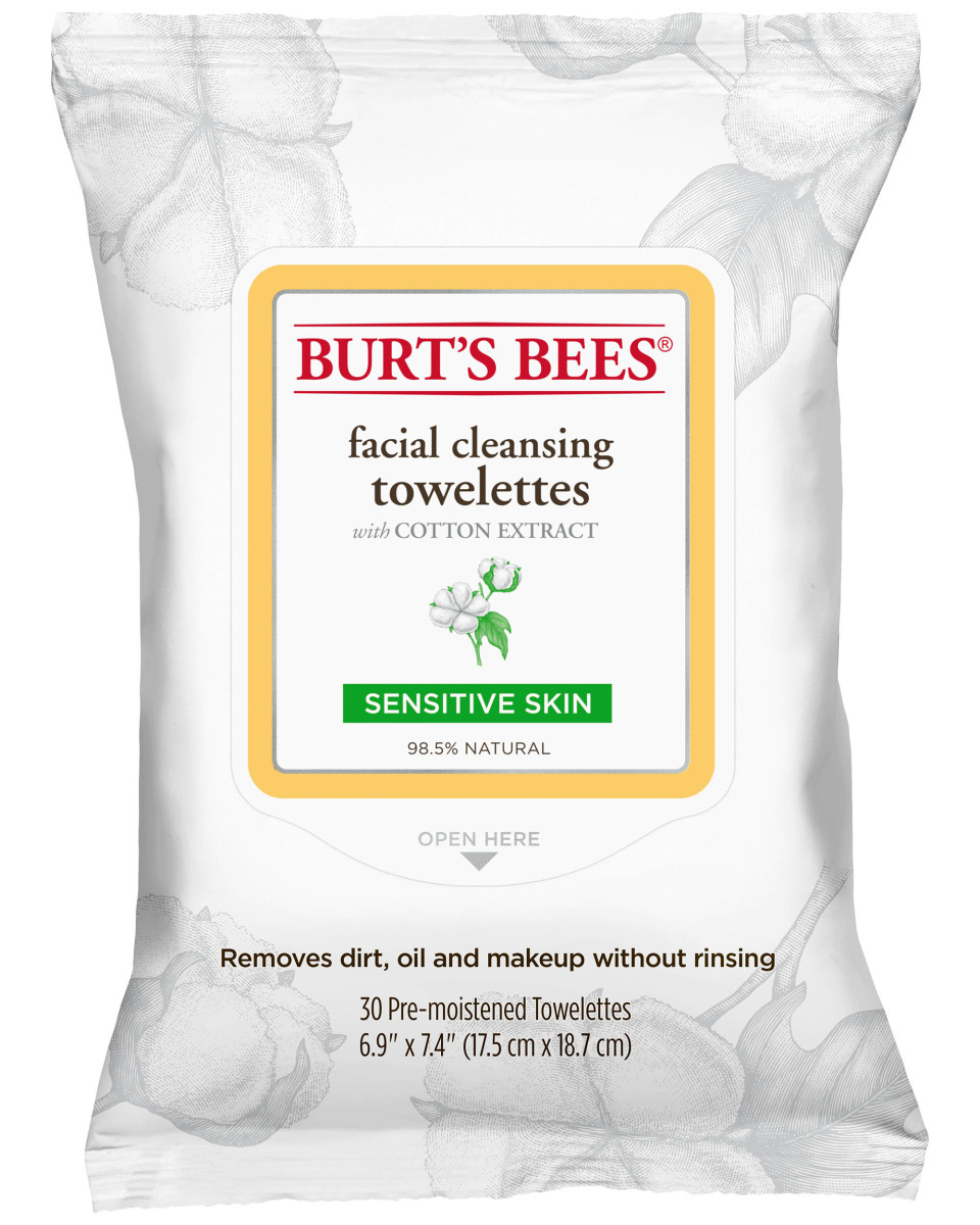 Burt's Bees Sensitive Facial Cleansing Towelettes