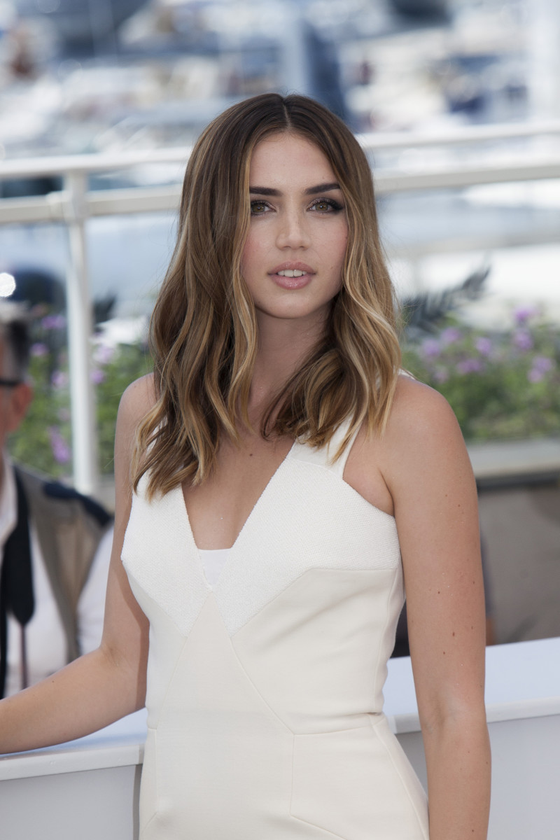 Ana de Armas Hands of Stone Cannes photocall 2016