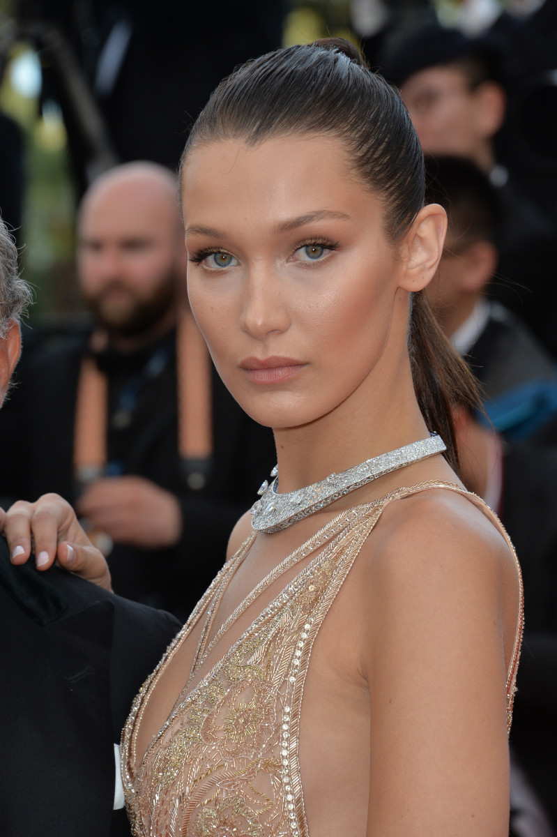 Bella Hadid Cafe Society Cannes premiere 2016