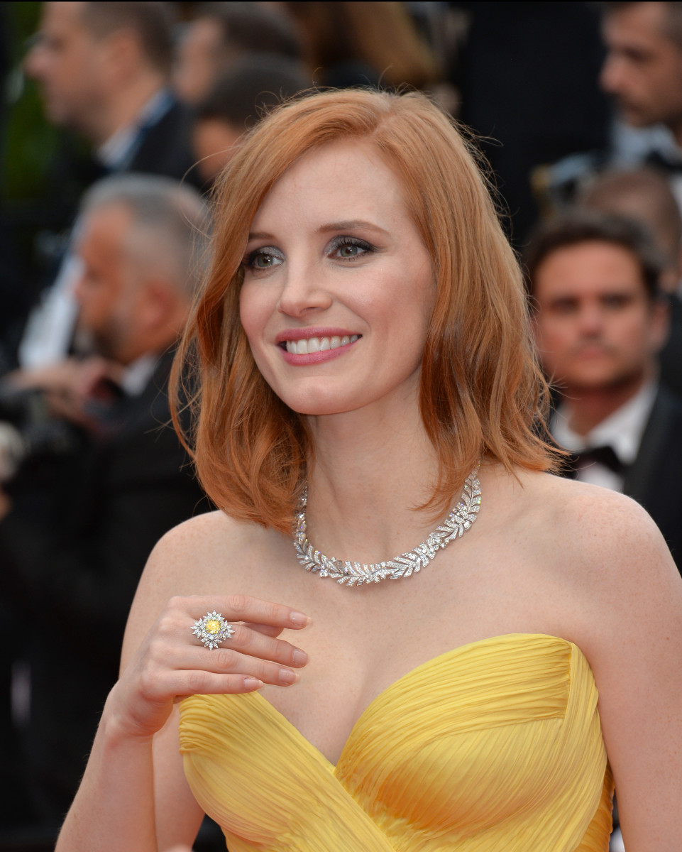 Jessica Chastain Cafe Society Cannes premiere 2016