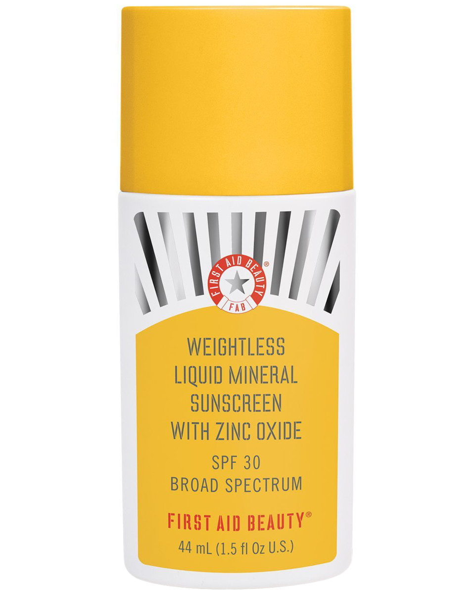 First Aid Beauty Weightless Liquid Mineral Sunscreen with Zinc Oxide SPF 30