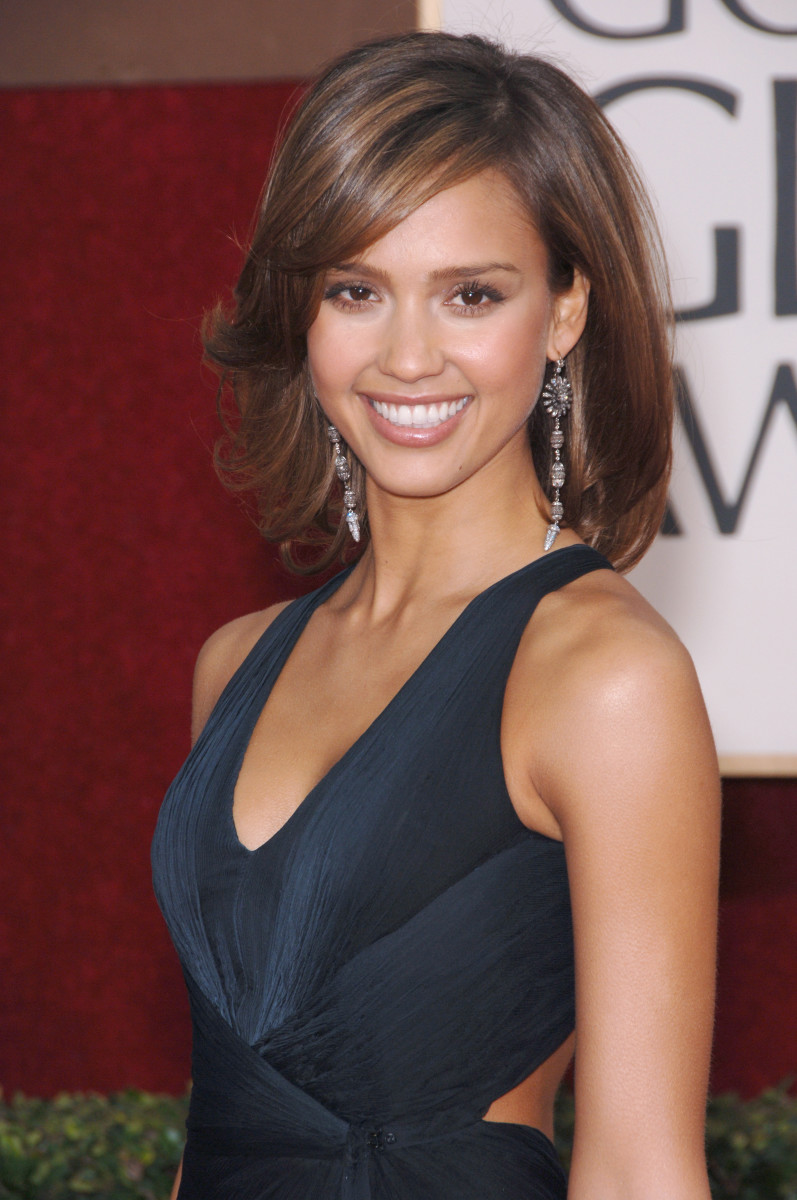 Jessica Alba Golden Globes 2006