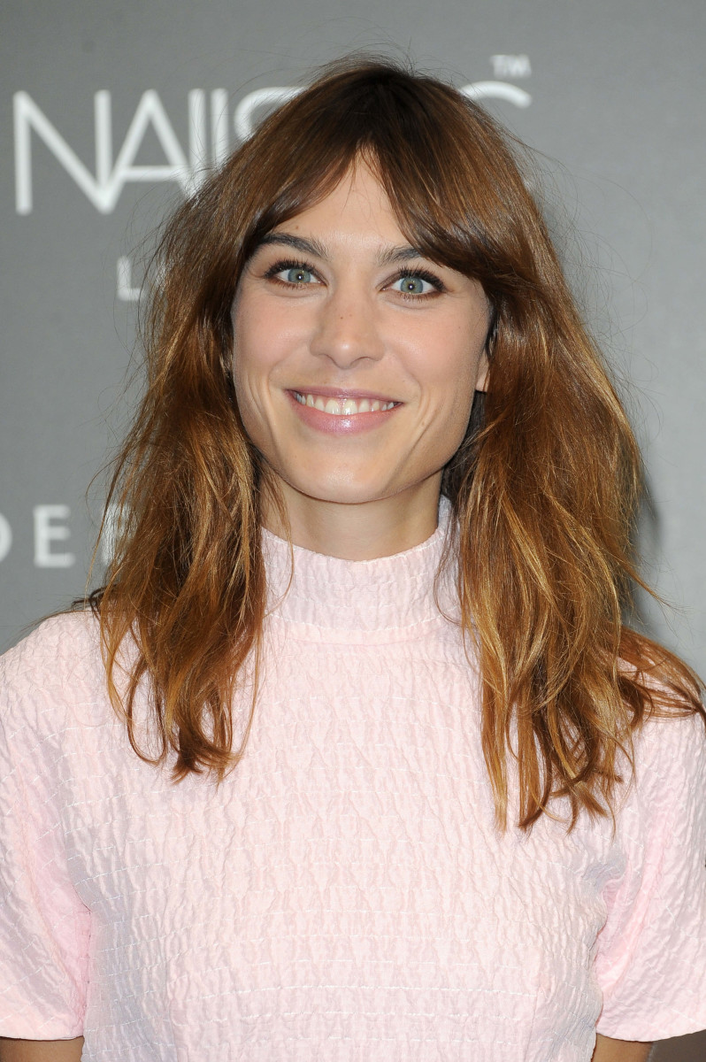 Alexa Chung Alexa Manicure Collection launch 2014