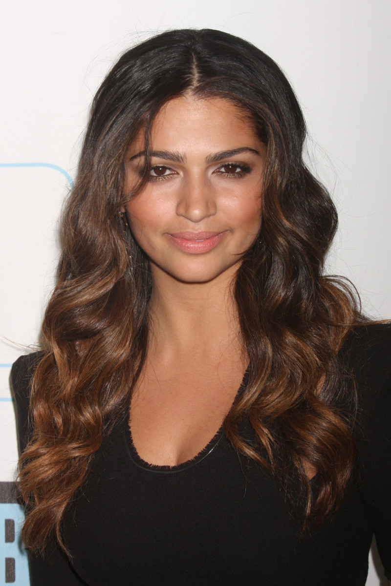 Camila Alves Bravo Upfront Party 2010