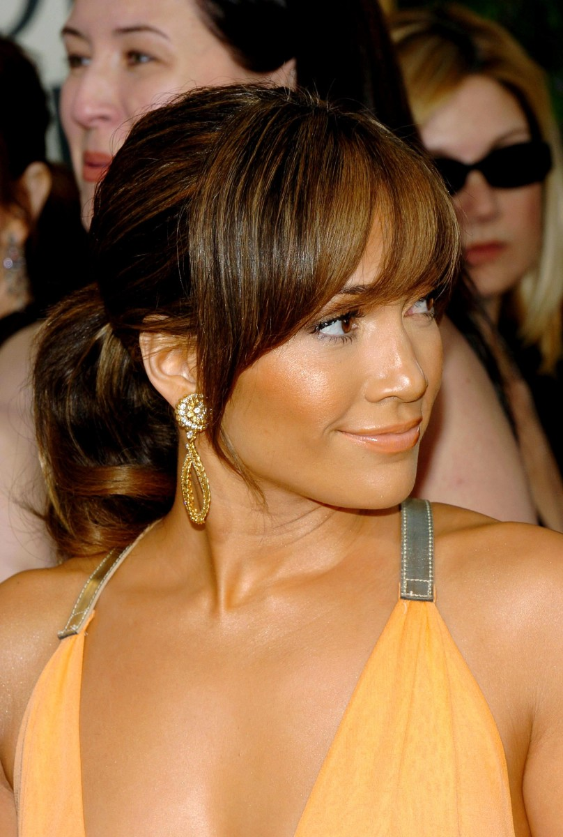 Jennifer Lopez Golden Globes 2004