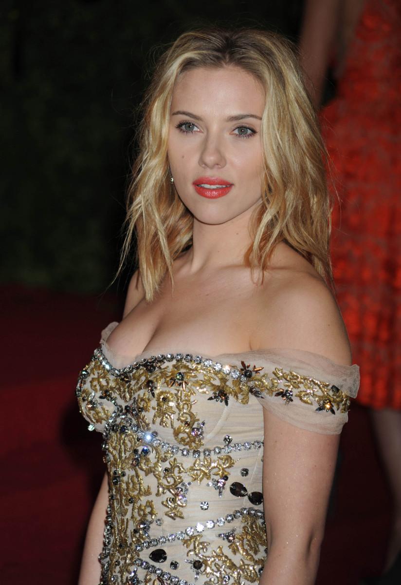 Scarlett Johansson Met Gala 2012